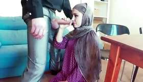 Naughty arab wench stylish face screwed